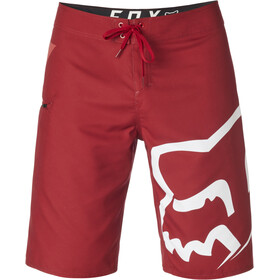 Fox Stock Boardshorts Heren, cardinal